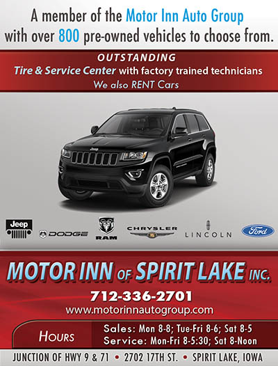 Index of images ads okoboji 2014 15 for Motor inn spirit lake