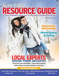 Sioux Falls Resource Guide Cover 2012